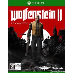 『中古即納』{表紙説明書なし}{XboxOne}ウルフェンシュタイン 2: ザ ニューコロッサス(Wolfenstein II: The New Colossus)(20171123) mediaworld-plus