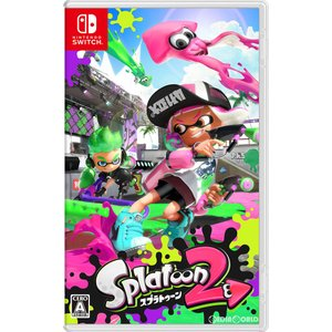 『新品即納』{Switch}Splatoon 2(スプラトゥーン2)(20170721)|mediaworld-plus