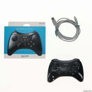 『中古即納』{OPT}Wii U PROコントローラー Kuro 黒 クロ 任天堂(WUP-A-RSKA)(20121208)