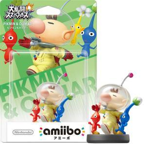 『中古即納』{ACC}{WiiU}amiibo(アミーボ) ピクミン&オリマー(大乱闘スマッシュブラ...