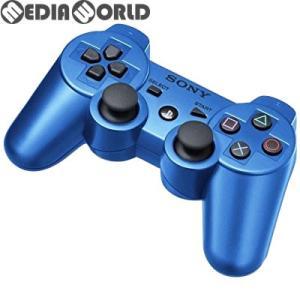 『中古即納』{ACC}{PS3}ワイヤレスコントローラー デュアルショック3(DUALSHOCK3) スプラッシュ・ブルー SIE(CECH-ZC2JA1)(20111117)|mediaworld-plus