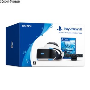 『中古即納』{ACC}{PS4}PlayStation VR PlayStation VR WORLDS(プレイステーション VR ワールド) 同梱版 SIE(CUHJ-16006)(20181012)|mediaworld-plus