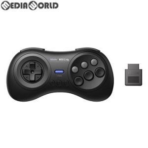 『新品即納』{ACC}{MD}8BitDo M30 2.4G Wireless GamePad(ワイヤレス ゲームパッド) for MD ブラック サイバーガジェット(CY-8BDM30W-BK)(20190518)|mediaworld-plus