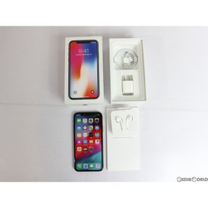 『中古即納』iPhoneX 64GB(スペースグレイ) SIMフリー Apple(アップル)(MQAX2J)|mediaworld-plus