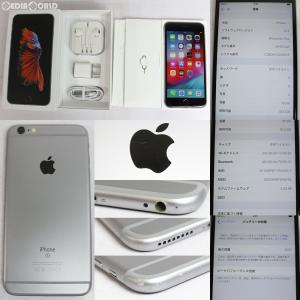 『中古即納』iPhone6sPlus 16GB(スペースグレイ) ソフトバンク(SoftBank) Apple(アップル)(MKU12J)|mediaworld-plus