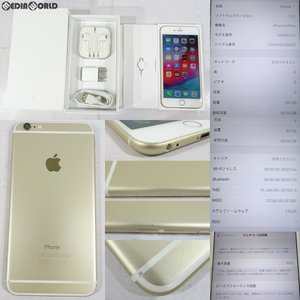 『中古即納』{SP}iPhone6Plus 64GB(ゴールド) ドコモ(docomo) Apple(アップル)(MGAK2J) mediaworld-plus