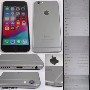『中古即納』{SP}iPhone6 16GB(スペースグレイ) ソフトバンク(SoftBank) Apple(アップル)(MG472J)|mediaworld-plus