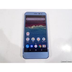 『中古即納』{SP}Android One 507SH(スモーキーブルー) ワイモバイル(Y!mobile) シャープ(SHSFZ1)|mediaworld-plus