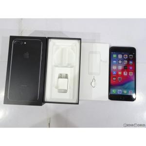『中古即納』{SP}iPhone7Plus 128GB(ジェットブラック) ソフトバンク(SoftBank) Apple(アップル)(MN6K2J)|mediaworld-plus