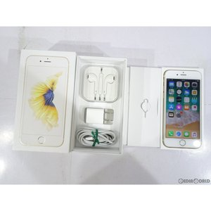 『中古即納』{SP}iPhone6s 64GB(ゴールド) au Apple(アップル)(MKQQ2J)|mediaworld-plus
