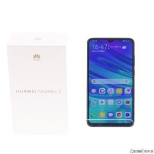 『中古即納』{SIM解除済}{SP}nova lite 3 POT-LX2J(オーロラブルー) その他 Huawei(ファーウェイ)(novalite3)|mediaworld-plus