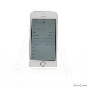 『中古即納』{SP}iPhoneSE 32GB(ゴールド) ソフトバンク(SoftBank) Apple(アップル)(MP842J)|mediaworld-plus