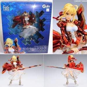 『中古即納』{未開封}{FIG}セイバーエクストラ Fate/EXTRA(フェイト/エクストラ) 1/8 完成品 フィギュア ギフト(Gift)(20120430)|mediaworld-plus