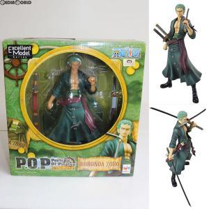 『中古即納』{未開封}{FIG}Portrait.Of.Pirates P.O.P Sailing Again ロロノア・ゾロ ONE PIECE(ワンピース) 1/8 完成品 フィギュア メガハウス(20120131)|mediaworld-plus