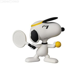 『新品即納』{FIG}ウルトラディテールフィギュア No.323 UDF PEANUTS(ピーナッツ) 5 TENNIS PLAYER SNOOPY(テニスプレイヤースヌーピー) メディコム・トイ mediaworld-plus
