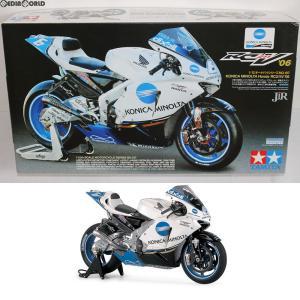 『中古即納』{PTM}オートバイシリーズ No.107 KONICA MINOLTA Honda RC211V'06 プラモデル(14107) タミヤ(20070303)|mediaworld-plus