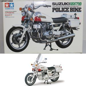『中古即納』{PTM}オートバイシリーズ No.20 スズキ GSX750 ポリスタイプ プラモデル(14020) タミヤ(20170225)|mediaworld-plus
