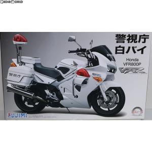 『中古即納』{PTM}BIKE-4 1/12 Honda VFE800P 警視庁 白バイ仕様 プラモデル フジミ(20110618)|mediaworld-plus