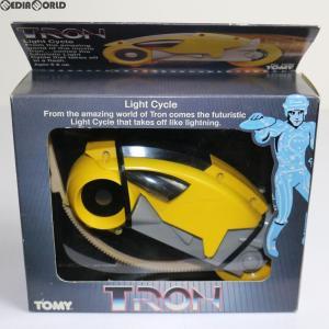『中古即納』{TOY}Light Cycles(ライトサイクル) イエローver TRON(トロン) 完成トイ(5030) トミー(19821231)|mediaworld-plus