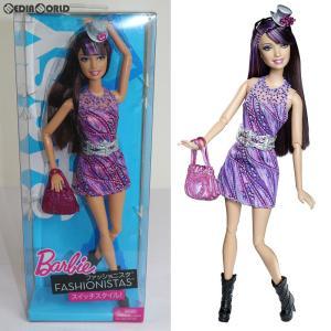 『中古即納』{FIG}Barbie FASHIONISTAS(バービー ファッショニスタ) スイッチスタイル SASSY(サッシー) 完成品 ドール(T7414) マテル(20110331)|mediaworld-plus