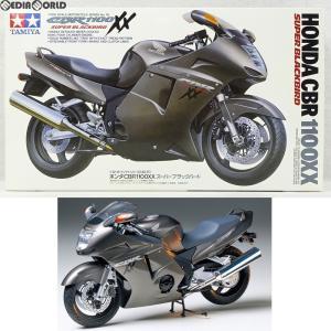 『中古即納』{PTM}オートバイシリーズ No.70 1/12 Honda(ホンダ) CBR1100XXスーパーブラックバード プラモデル(14070) タミヤ(19971130)|mediaworld-plus