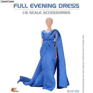 『予約安心発送』{FIG}1/6 女性用アウトフィット フル イブニングドレス ブルー ドール用衣装(VA03A) ホットヒート(2018年10-12月)|mediaworld-plus