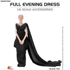 『予約安心発送』{FIG}1/6 女性用アウトフィット フル イブニングドレス ブラック ドール用衣装(VA03C) ホットヒート(2018年10-12月)|mediaworld-plus