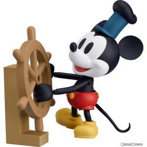 『中古即納』{未開封}{FIG}ねんどろいど 1010b ミッキーマウス 1928 Ver.(カラー) 蒸気船ウィリー 完成品 可動フィギュア グッドスマイルカンパニー(20190512)|mediaworld-plus