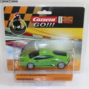 『中古即納』{未開封}{TOY}Carrera GO!!! 1/43 Lamborghini Huracan(ランボルギーニ ウラカン) LP610-4 スロットカー 完成トイ(20064029) 京商(20151231)|mediaworld-plus