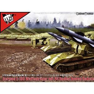 特価⇒『新品即納』{PTM}FIST OF WAR(フィスト・オブ・ウォー) 1/72 ドイツ軍E-100 ヴァッフェントリーガー V4地対地ミサイル プラモデル ロケットモデルズ|mediaworld-plus