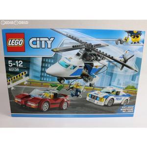 『中古即納』{未開封}{TOY}LEGO City(レゴ シティ) ポリスヘリコプターとポリスカー 完成トイ(60138) LEGO(レゴ)(20161226)|mediaworld-plus