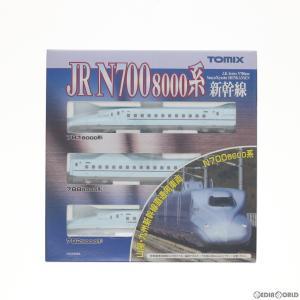 『新品即納』{RWM}(再販)92411 JR N700-8000系山陽・九州新幹線基本セット(3両) Nゲージ 鉄道模型 TOMIX(トミックス)(20170601)|mediaworld-plus