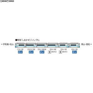 『新品即納』{RWM}HO-9034 JR キハ181系特急ディーゼルカー(JR四国色)基本セット(4両) HOゲージ 鉄道模型 TOMIX(トミックス)(20180331)|mediaworld-plus
