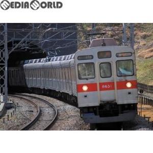 『予約安心発送』{RWM}30695 東急8500系(田園都市線・黄色テープ付き)基本6両編成セット(動力付き) Nゲージ 鉄道模型 グリーンマックス(2018年3月)|mediaworld-plus