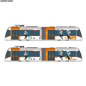 『予約安心発送』{RWM}287681 鉄道コレクション(鉄コレ) 富山ライトレール 鉄道むすめ2017ラッピングver Nゲージ 鉄道模型 TOMYTEC(トミーテック)(2018年2月)|mediaworld-plus