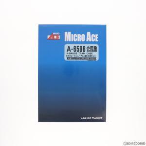 『中古即納』{RWM}A6596 小田急30000形 EXEα リニューアル 基本6両セット(動力付き) Nゲージ 鉄道模型 MICRO ACE(マイクロエース)(20190727)|mediaworld-plus