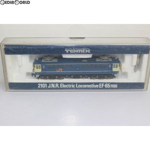『中古即納』{RWM}2101 JR EF65-1100形電気機関車 Nゲージ 鉄道模型 TOMIX(トミックス)(20001231)|mediaworld-plus