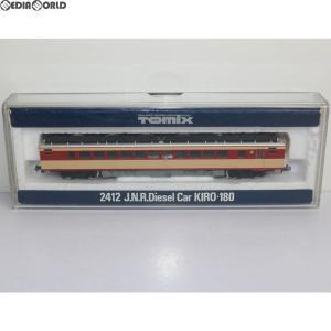 『中古即納』{RWM}2412 国鉄 キロ180形ディーゼル動車 Nゲージ 鉄道模型 TOMIX(トミックス)(20001231)|mediaworld-plus