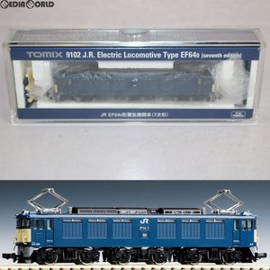 『予約安心発送』{RWM}(再販)9102 JR EF64-0形電気機関車(7次形) Nゲージ 鉄道模型 TOMIX(トミックス)(2018年8月)|mediaworld-plus