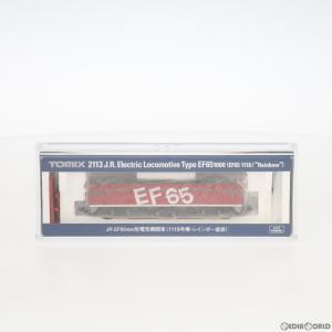 『中古即納』{RWM}2113 JR EF65-1000形 電気機関車(1118号機・レインボー塗装)(動力付き) Nゲージ 鉄道模型 TOMIX(トミックス)(20081130) mediaworld-plus