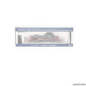 『中古即納』{RWM}2229 JR DE10形ディーゼル機関車(JR九州黒色塗装A) Nゲージ 鉄道模型 TOMIX(トミックス)(20160730)|mediaworld-plus
