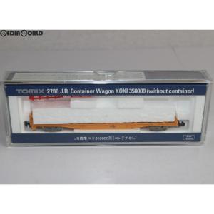 『中古即納』{RWM}2780 JR コキ350000形(コンテナなし) Nゲージ 鉄道模型 TOMIX(トミックス)(20040731)|mediaworld-plus