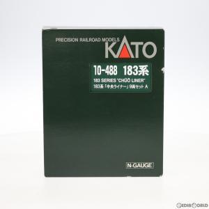 『中古即納』{RWM}10-488 183/189系「中央ライナー」 9両セット(動力付き) Nゲージ 鉄道模型 KATO(カトー)(20040531)|mediaworld-plus