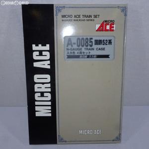 『中古即納』{RWM}A0085 国鉄52系 スカ色(飯田線) 4両セット Nゲージ 鉄道模型 MICRO ACE(マイクロエース)(20030617)|mediaworld-plus