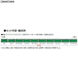 『新品』『O倉庫』{RWM}97903 限定品 JR EF81・24系(トワイライトエクスプレス・登場時)セット(10両) Nゲージ 鉄道模型 TOMIX(トミックス)(20190330)|mediaworld-plus