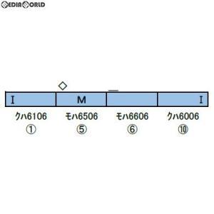 『予約安心発送』{RWM}30889 西武6000系(6106編成・副都心線対応車・機器更新車) 基本4両編成セット(動力付き) Nゲージ 鉄道模型 GREENMAX(グリーンマックス)|mediaworld-plus