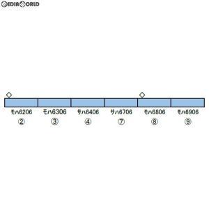 『予約安心発送』{RWM}30890 西武6000系(6106編成・副都心線対応車・機器更新車) 増結用中間車6両セット(動力無し) N 鉄道模型 GREENMAX(グリーンマックス)|mediaworld-plus