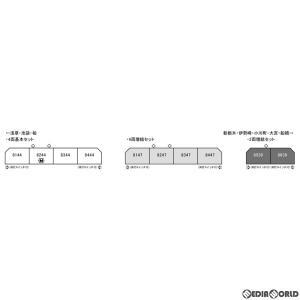 『新品』『お取り寄せ』{RWM}10-1647 東武鉄道8000系(更新車) 4両基本セット(動力付...