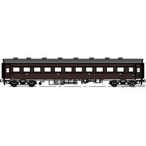 『予約安心発送』{RWM}(再販)TW35T-Oha35KN-1 オハ35キノコ折妻・布張屋根・ぶどう1号(動力無し) HOゲージ 鉄道模型 TRAMWAY(トラムウェイ)(2021年1月) mediaworld-plus