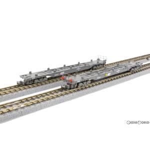 『新品』『お取り寄せ』{RWM}T007-2 コキ106 グレー 2両セット(動力無し) Zゲージ 鉄道模型 ROKUHAN(ロクハン/六半)(20130331)|mediaworld-plus